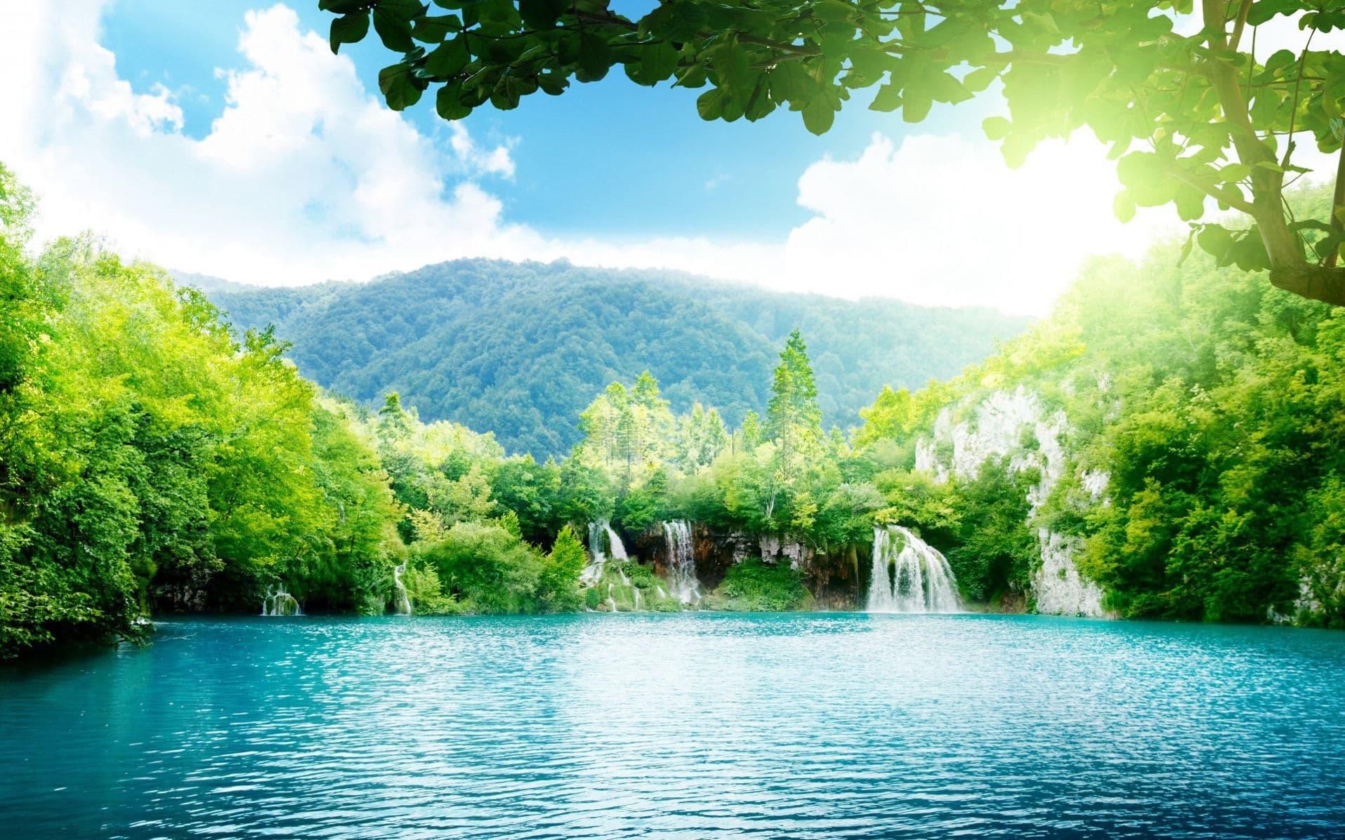 Самые теплые озера в мире