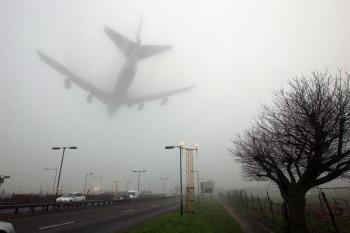 Туман осложняет маневры