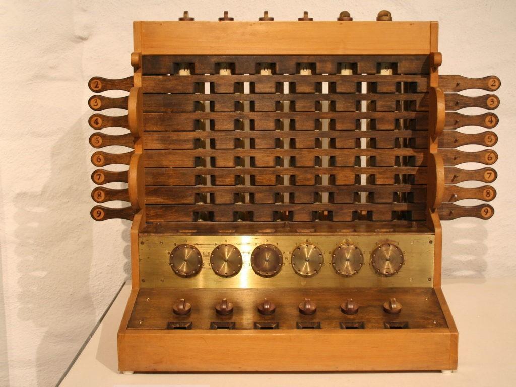 Копия вычислительной машины Шиккарда