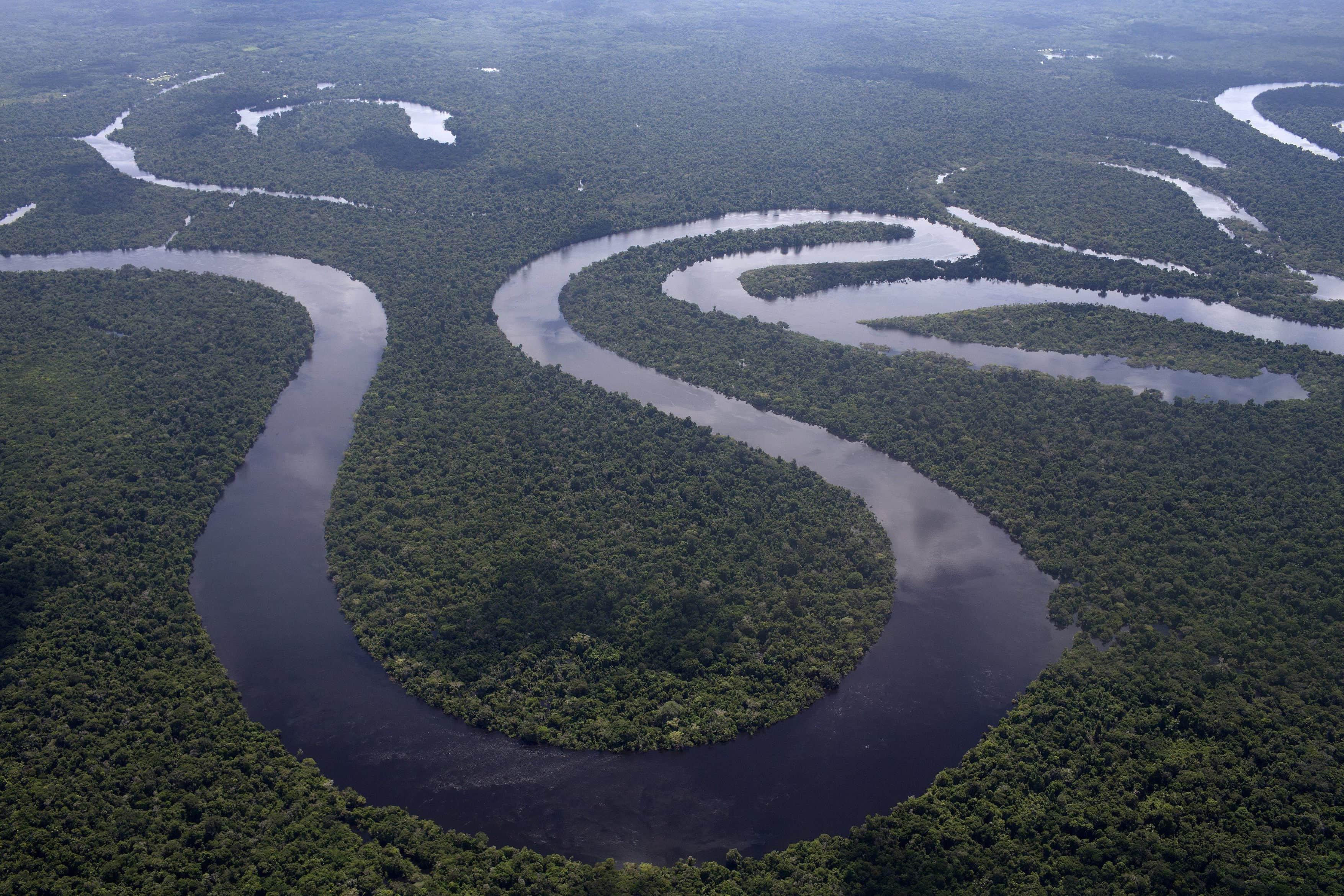 эта река занимает второе место