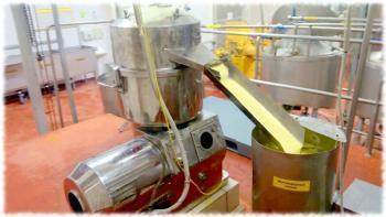Производство сливочного масла - сепаратор