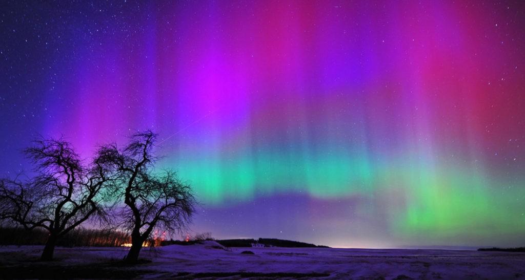 Красота северного сияния