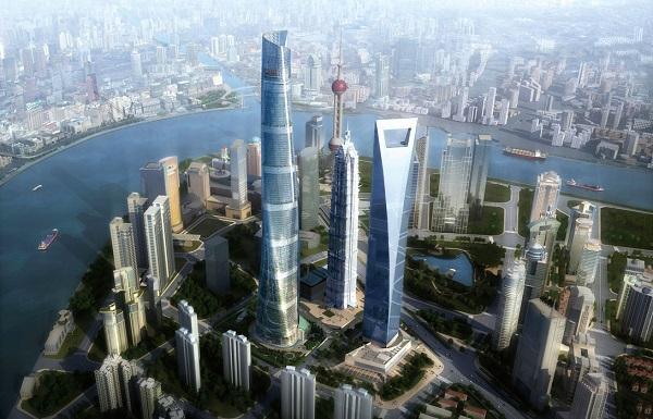 Шанхайская башня, Шанхай, Китай