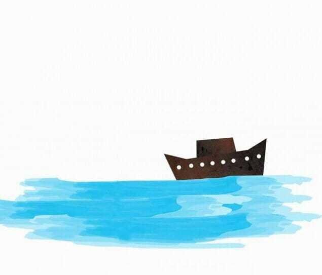Почему корабли не тонут?