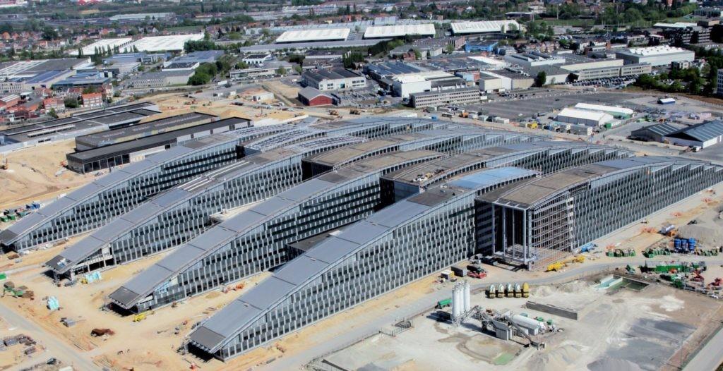 Строительство штаб-квартиры НАТО в Брюсселе
