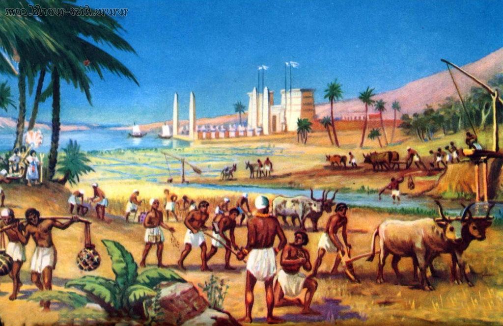 Сельское хозяйство в Древнем Египте