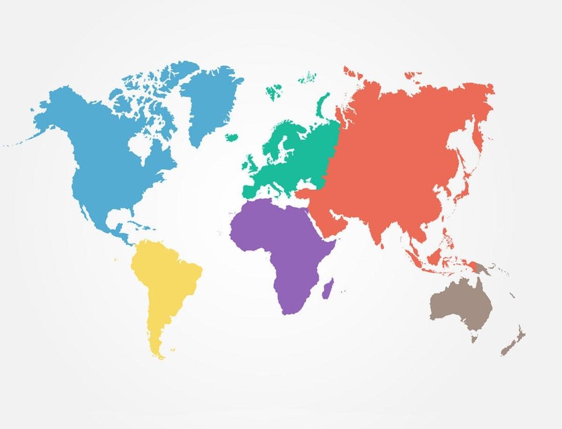 Сколько существует континентов на Земле и как они называются?