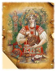Славянская богиня Мокошь
