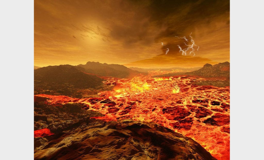Солнце на Венере