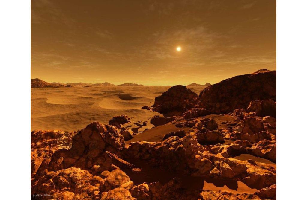 Солнце на Марсе