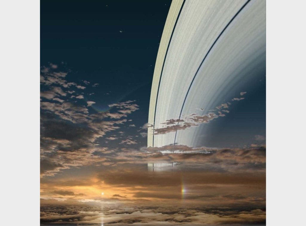 Солнце с Сатурна