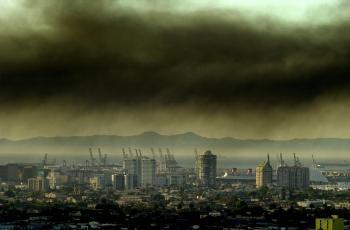 Городской смог вреден для глаз