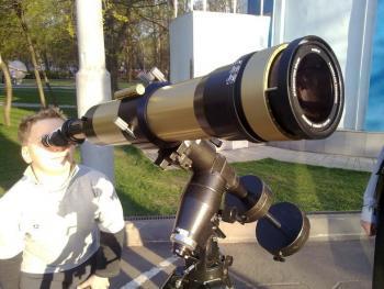 Телескоп с затемнением