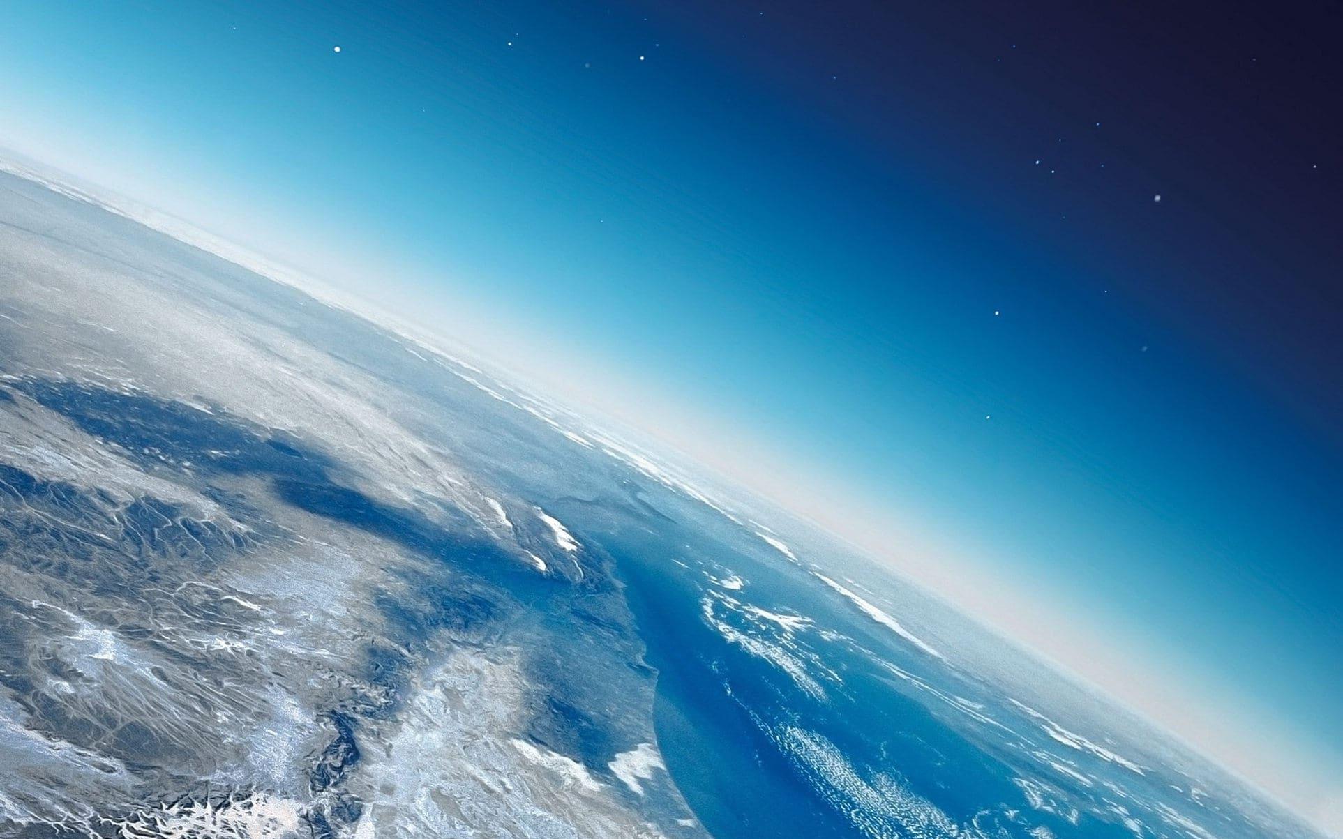 Состав атмосферы Земли, размер молекулы воздуха