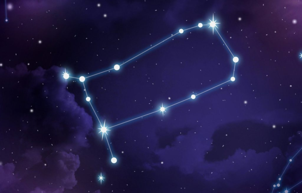 Естественная форма созвездия Близнецы