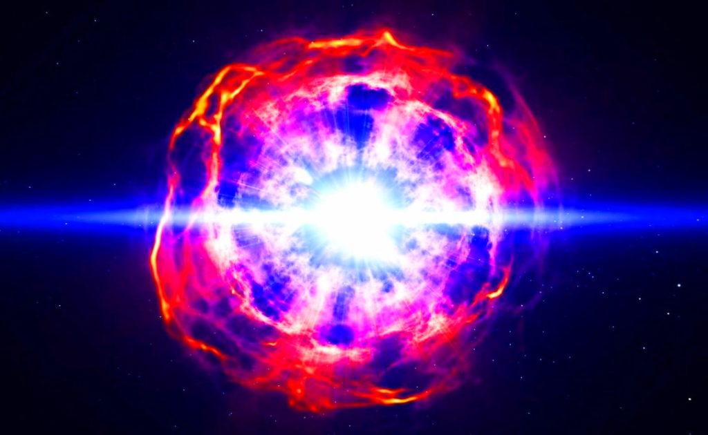 Модель сверхновой звезды