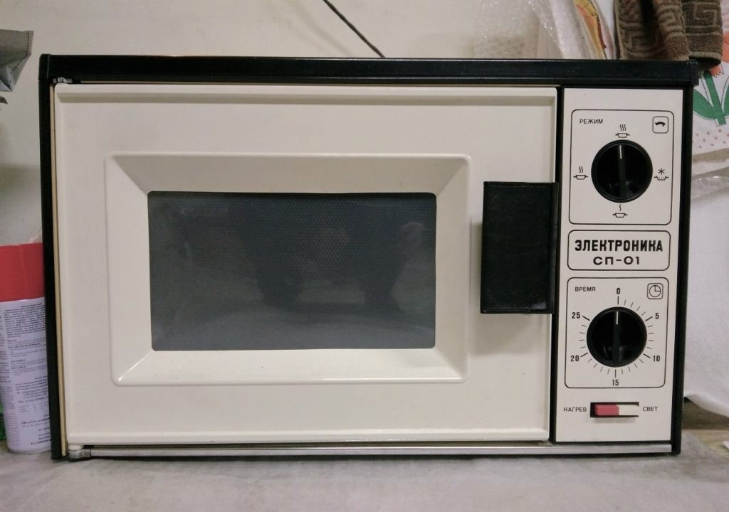 Микроволновая печь «Электроника», выпущенная в 1981-ом году