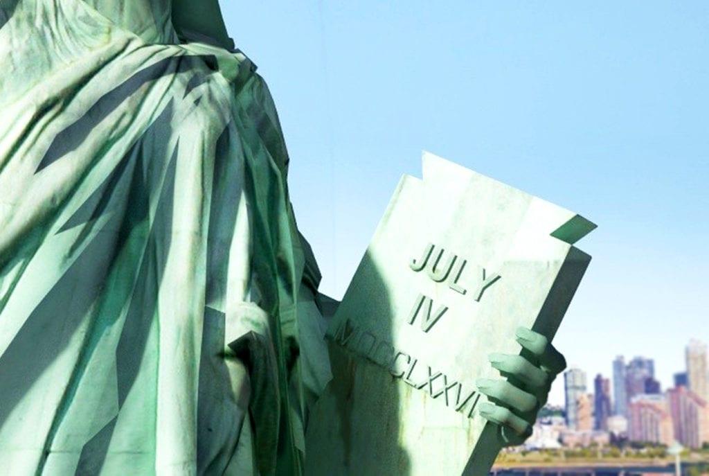 Скрижаль статуи Свободы