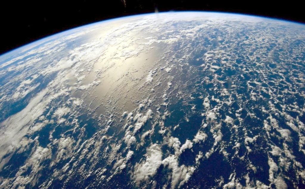 Фото Тихого океана с космоса