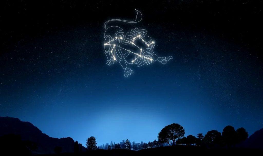 Рисунок Тельца на небе