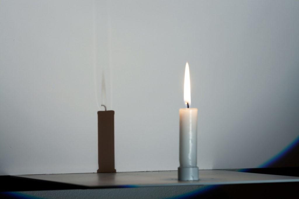 Тень от огня