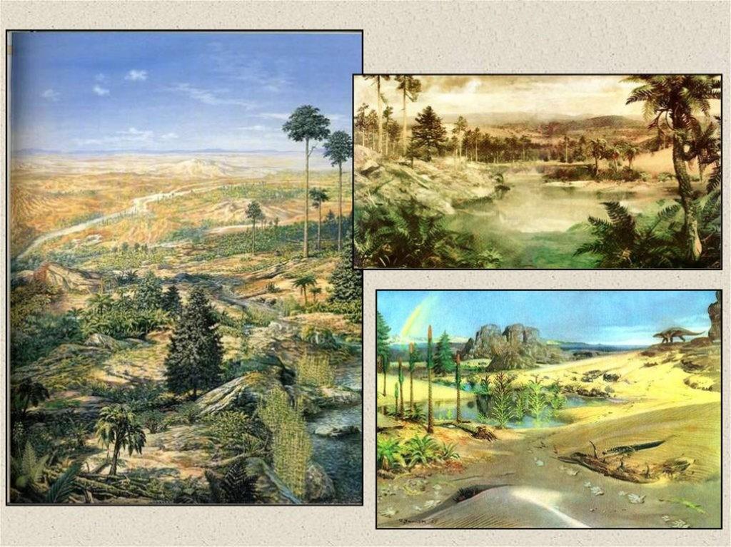 Ландшафт в триасовый период