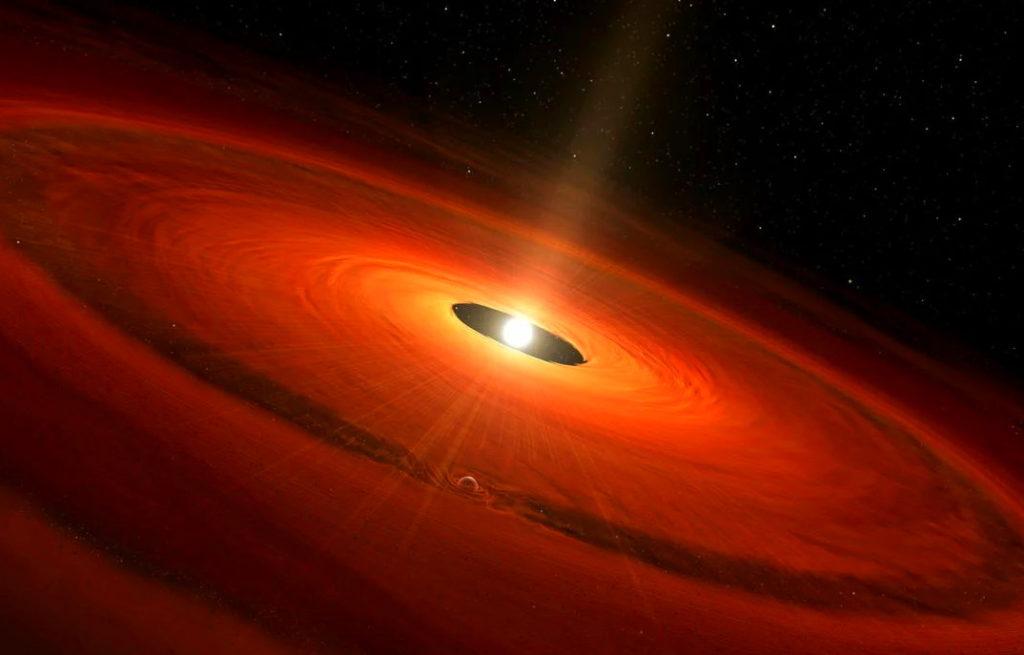Модель звезды Т Тельца