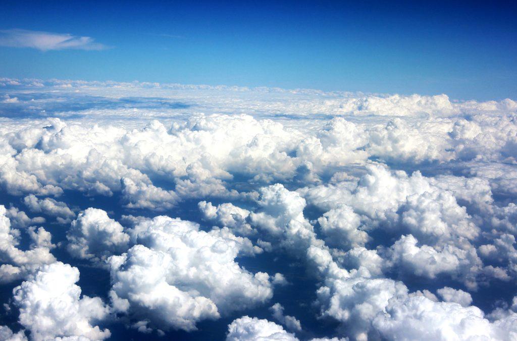 Тропосфера - область образования облаков