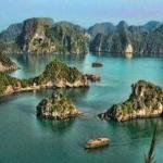 Цвет воды в Южно-Китайском море