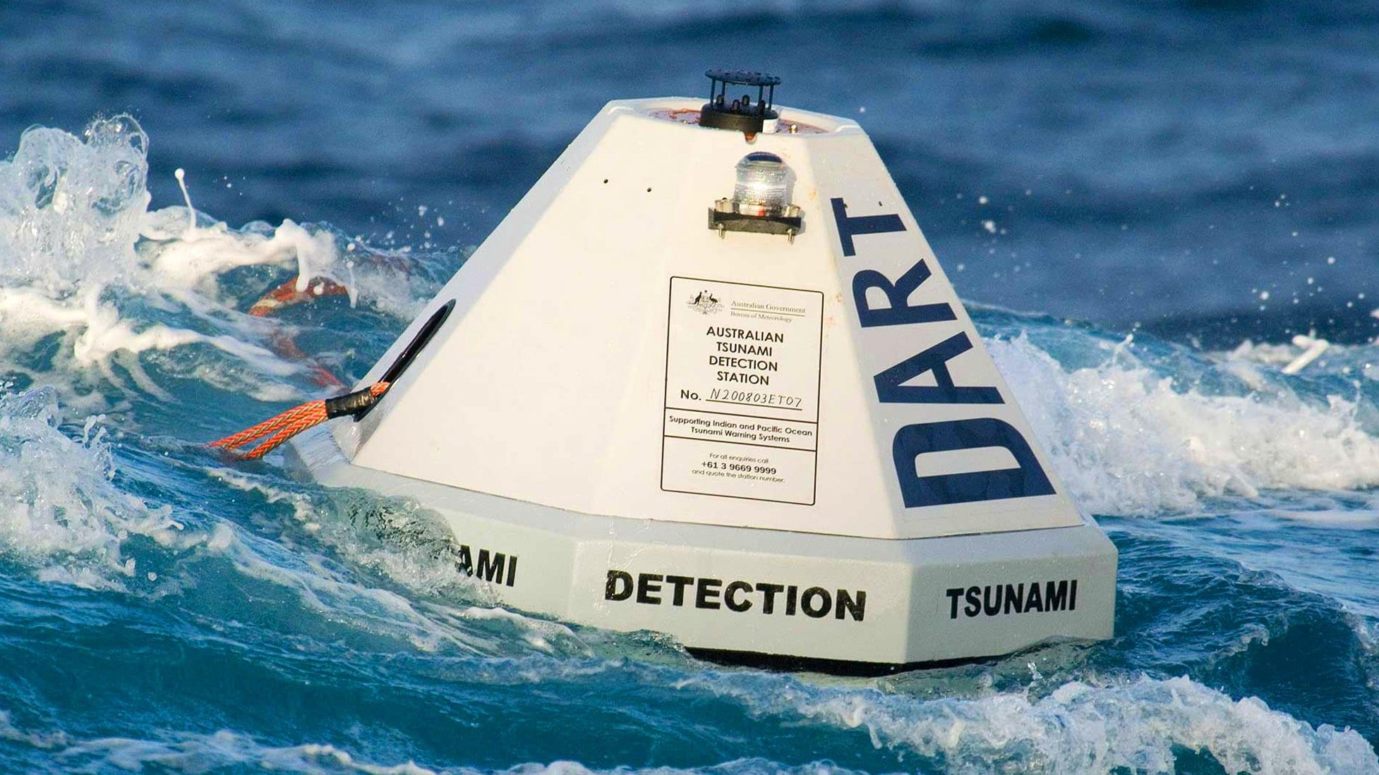 Устройство для распознавания цунами