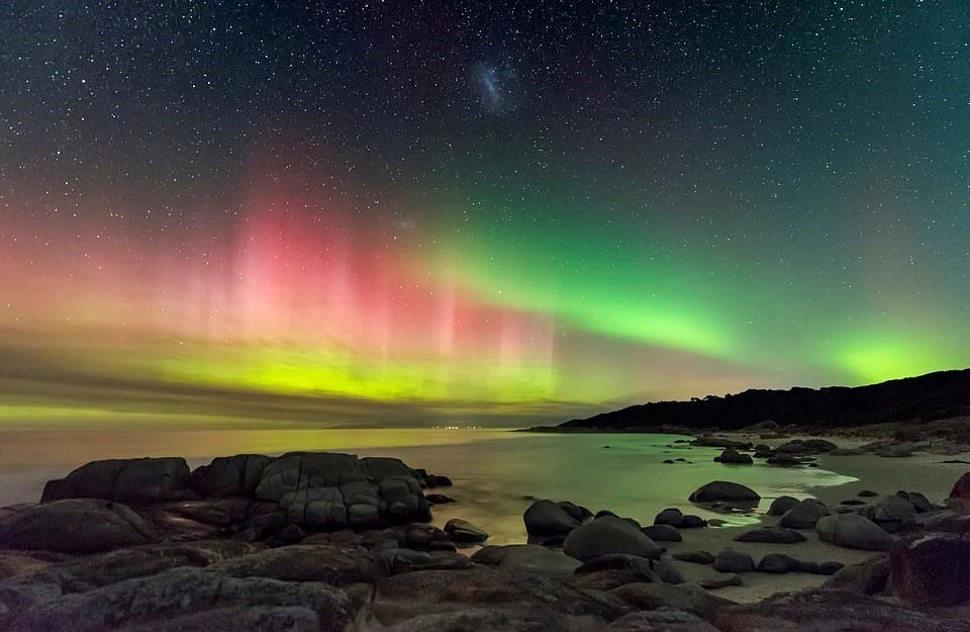 Южное сияние - Тасмания