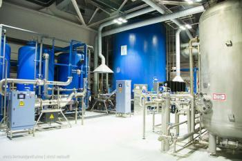 Обработка воды при производстве газировки