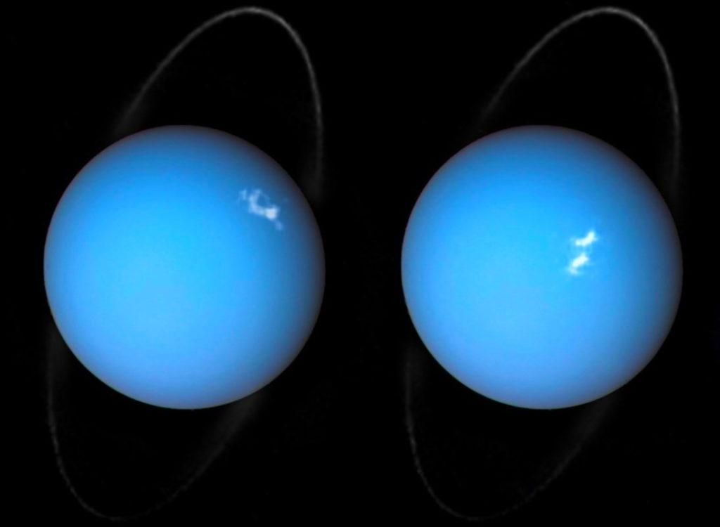 Фото Урана, сделанные «Вояджером-2»