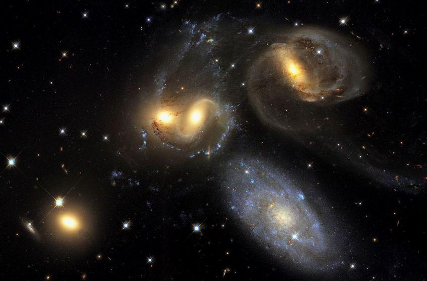 Пример галактической группы