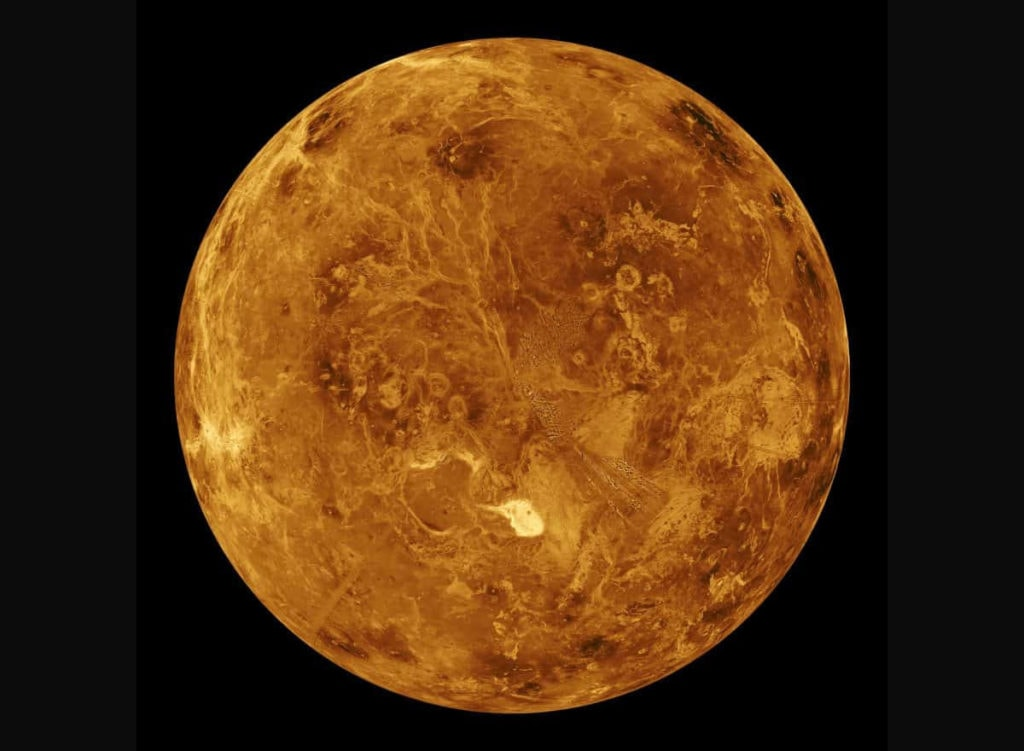 Вторая планета от Солнца – Венера