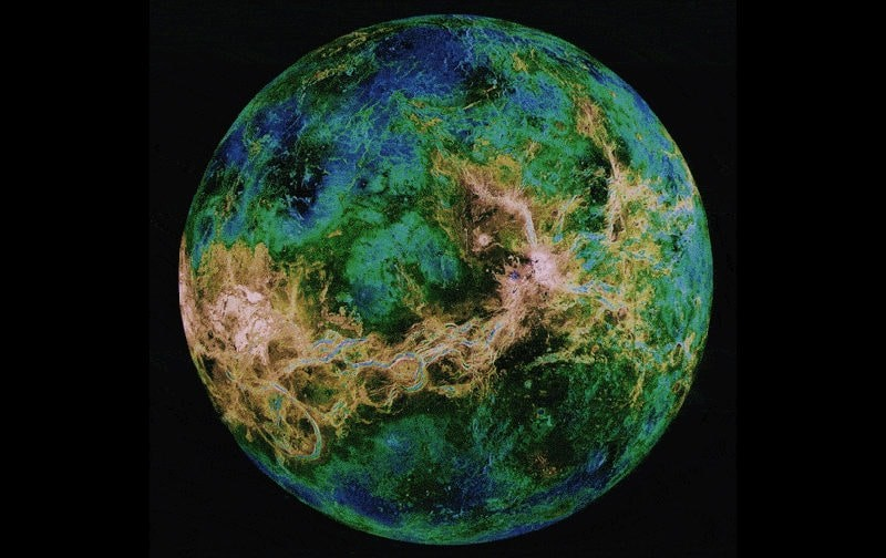 Венера в радиотелескоп