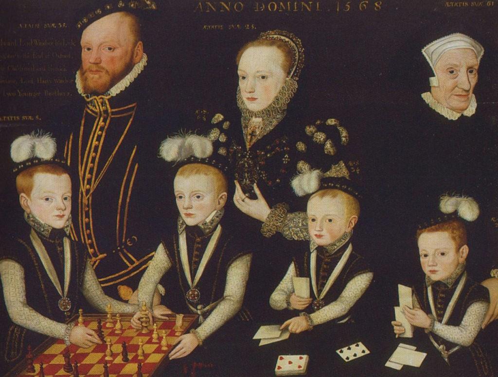 Портрет Эдварда Виндзора и его семьи, 1568 год
