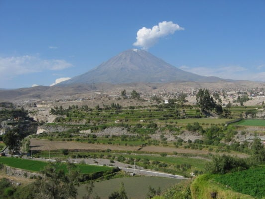 Вулкан - Эль Мисти