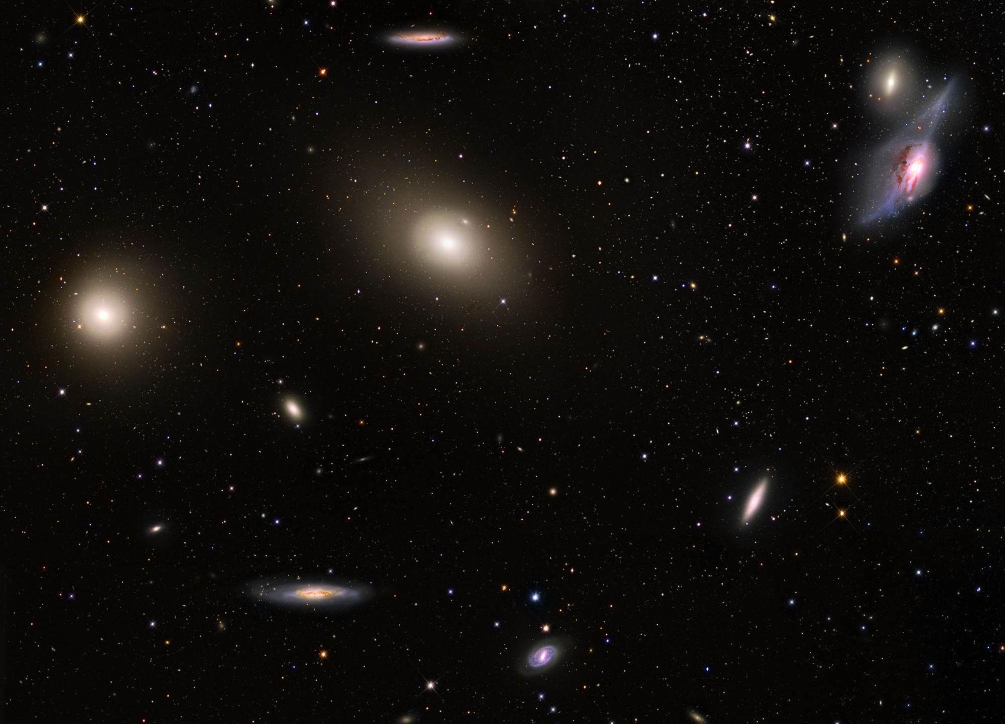 В некоторых частях Вселенной начали погибать галактики