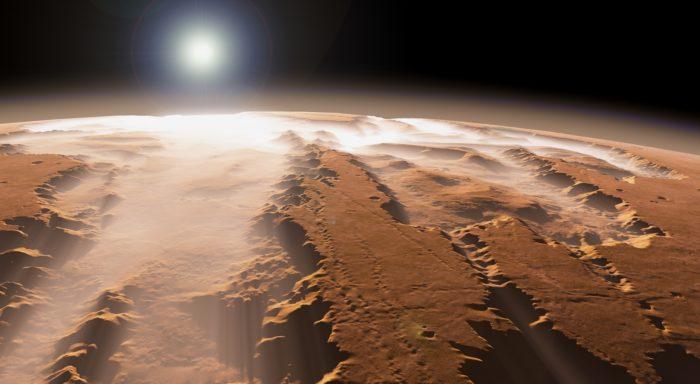 Овраги на Венере раньше могли быть заполнены водой