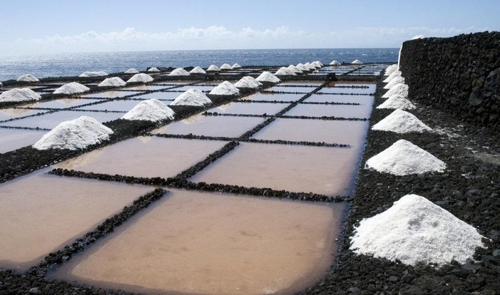 Выпаривание морской соли