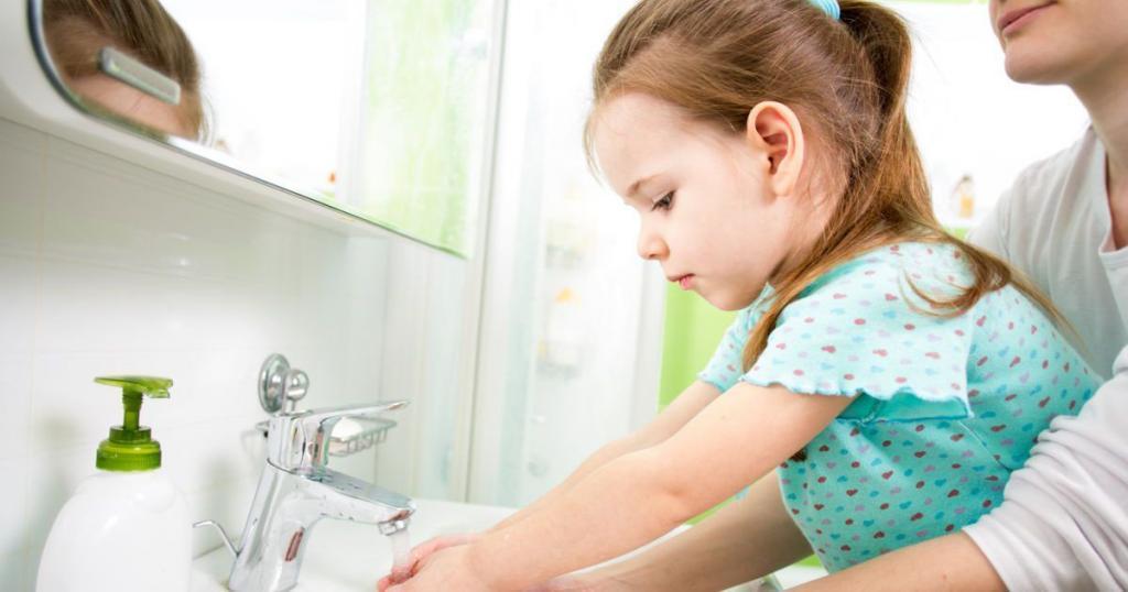 Мыть руки - с осторожностью