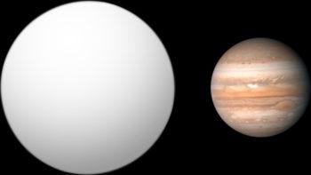 Сравнение WASP-17 b и Юпитера