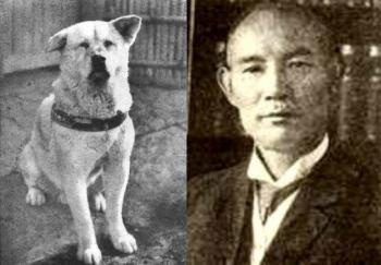 Хатико и его хозяин