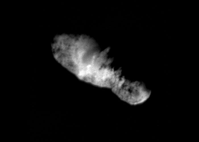 Ядро кометы Борелли