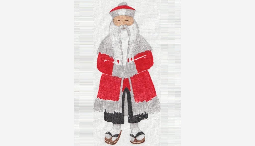 Японский Дед Мороз Одзи-сан