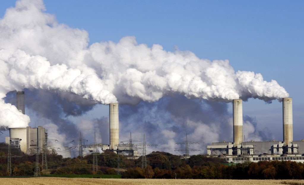 Промышленность наносит наибольший вред атмосфере