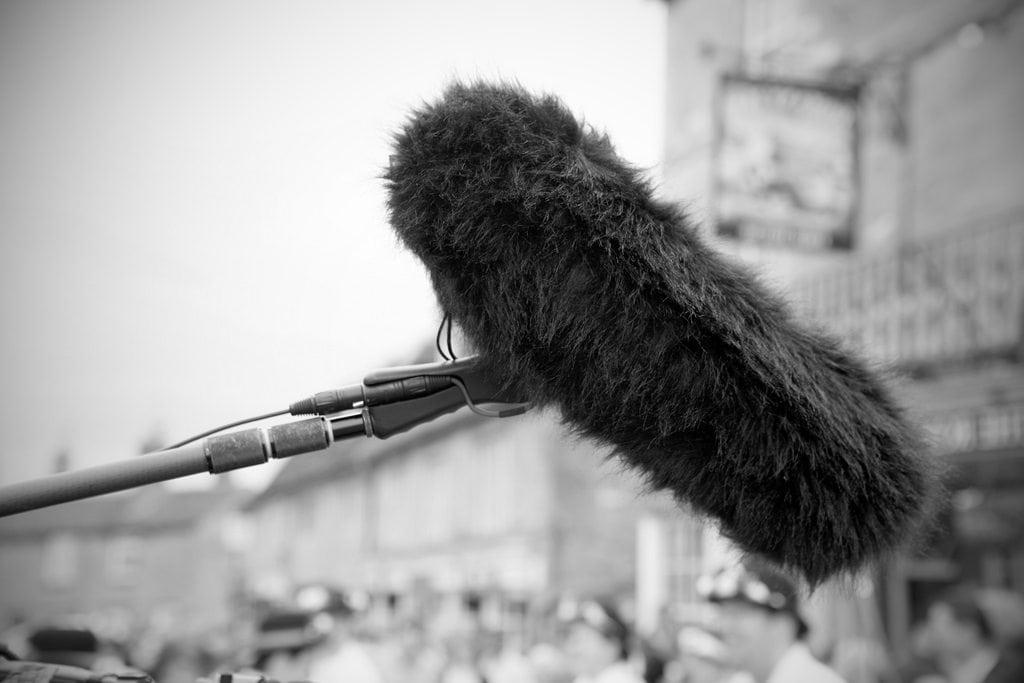 Почему на микрофон надевают меховой чехол?