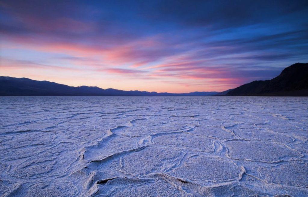 Закат в арктической пустыне