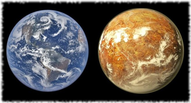 Земля и Проксима Б